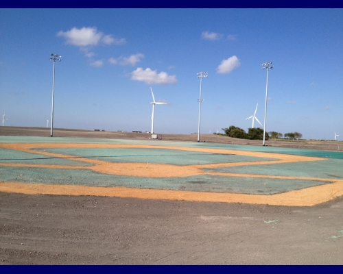 C-4 Athletics Baseball Field Taft, Texas 8/30/2013